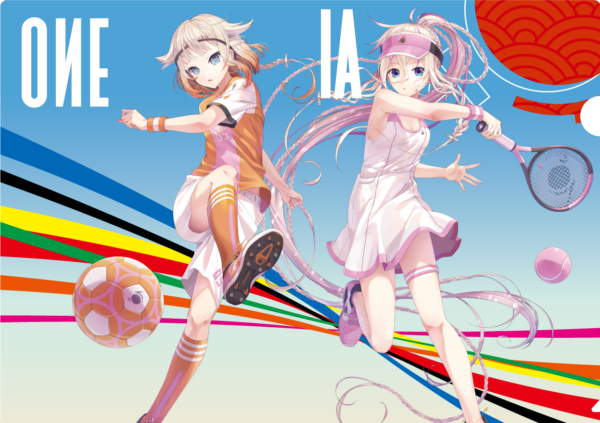 IA & OИE Sports クリアファイル